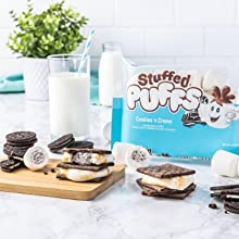 Stuffed Puffs Cookies 'n Creme S'mores