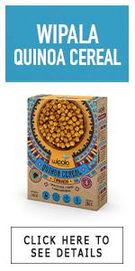 cereal de maiz quinoa puffs puffed box caja wipala snacks healthy hinchado cereals cinammon