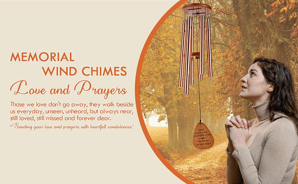 sympathy wind chimes