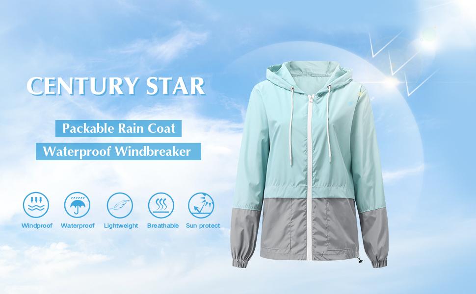 Plus Size Rain Jackets for Women