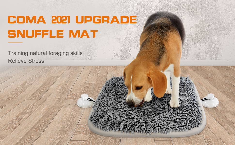 Coma 2021 Upgrade Snuffle Mat Training natural foraging skills Relieve Stress