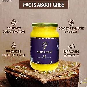 Achyutam Foods A2 cow bilona ghee