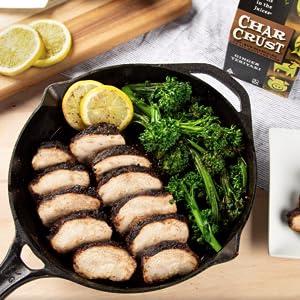 Char Crust Chicken