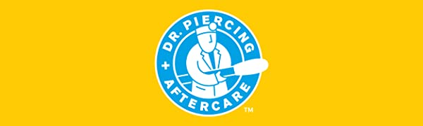 Dr. Piercing Aftercare Logo
