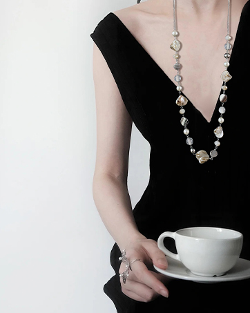 long necklace for women
