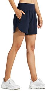 women running shorts
