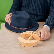 ensanchador de sombreros modo de empleo 1