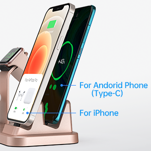 5 in 1 charging station for apple