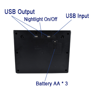 Battery and USB Ports