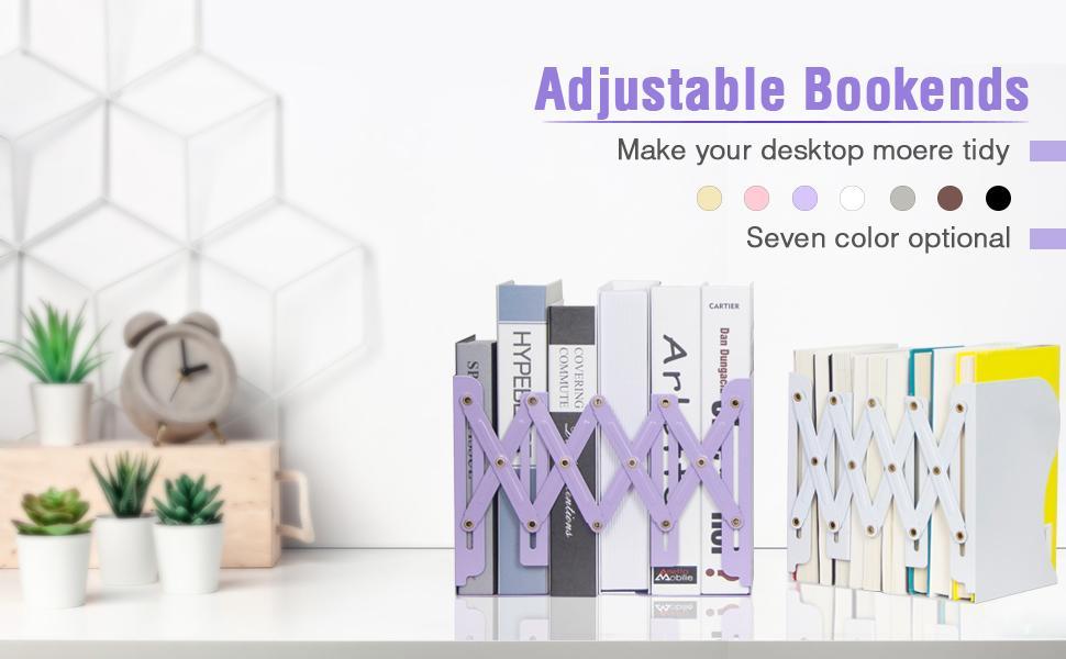 adjustable bookend