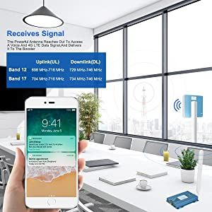 cell phone signal booster at&t
