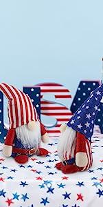 Joy-Leo July of Patriotic Christmas Gnomes - JL25