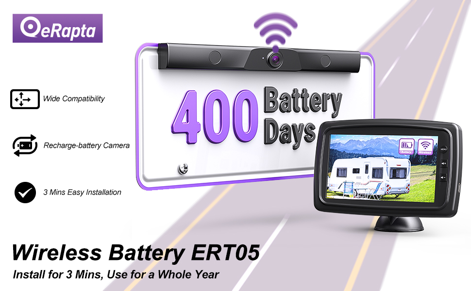 Wireless Battery Backup Camera