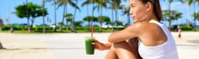 FGO woman drinking smoothie banner