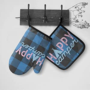 Oven Mitts and Pot Holders Set