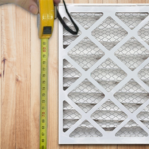 measuring and replacing your air filter
