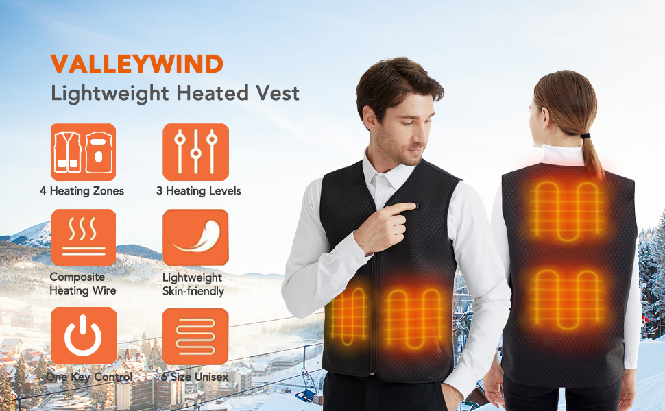 Lightweight Electric Warm Vest