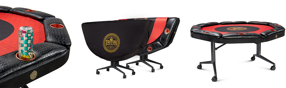 8 player poker table
