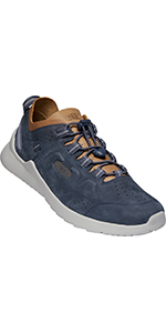 KEEN Men's Highland Leather Low Height Casual Sneaker comparison chart