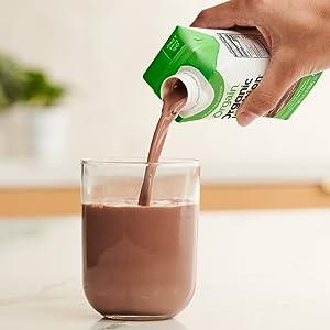 pour shake
