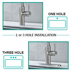 kitchen faucet 3 hole,single hole kitchen faucet,pull-down sprayer kitchen faucets,camper faucet