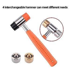 Detachable hammer