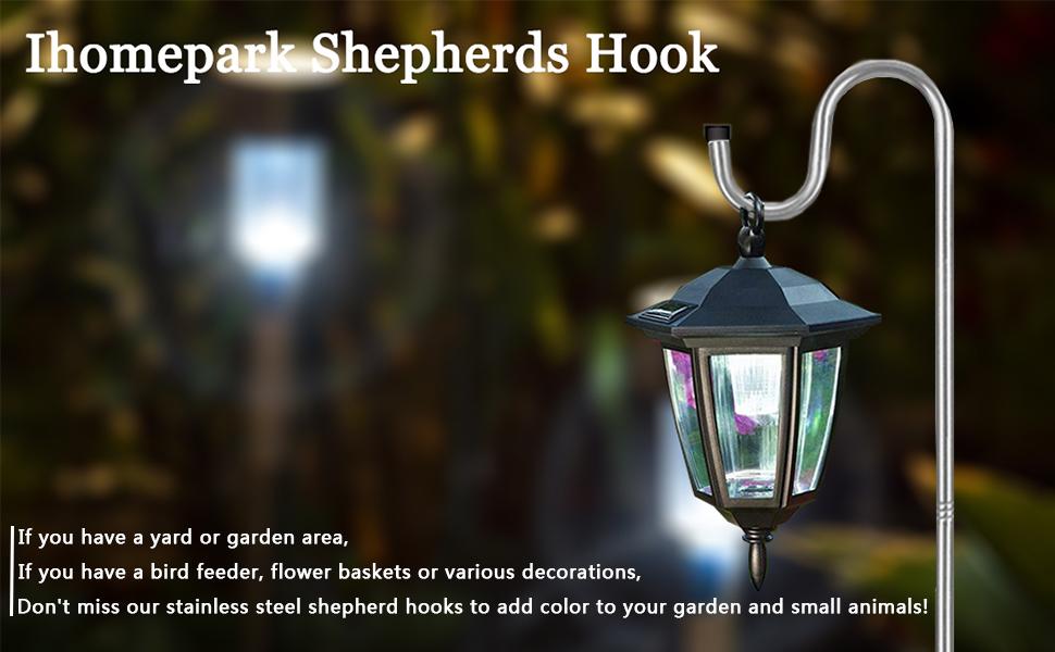 Shepherds Hook for Outdoor