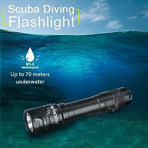 scuba light