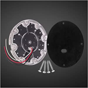7 inch round led  bus tail light
