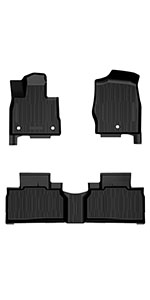 Floor Mats Compatible with 2020 2021 Ford Explorer
