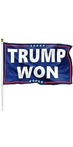 trump won flag 2024
