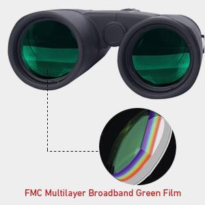 FMC green film lens