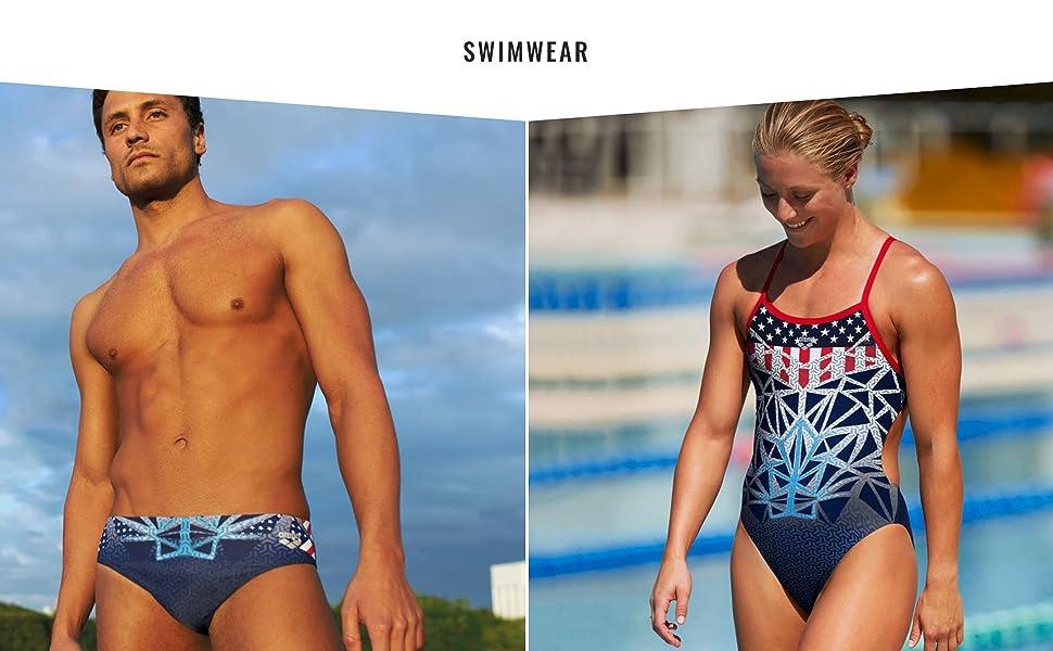 bishamon collection athletic swimwear