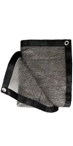 shade cloth gray