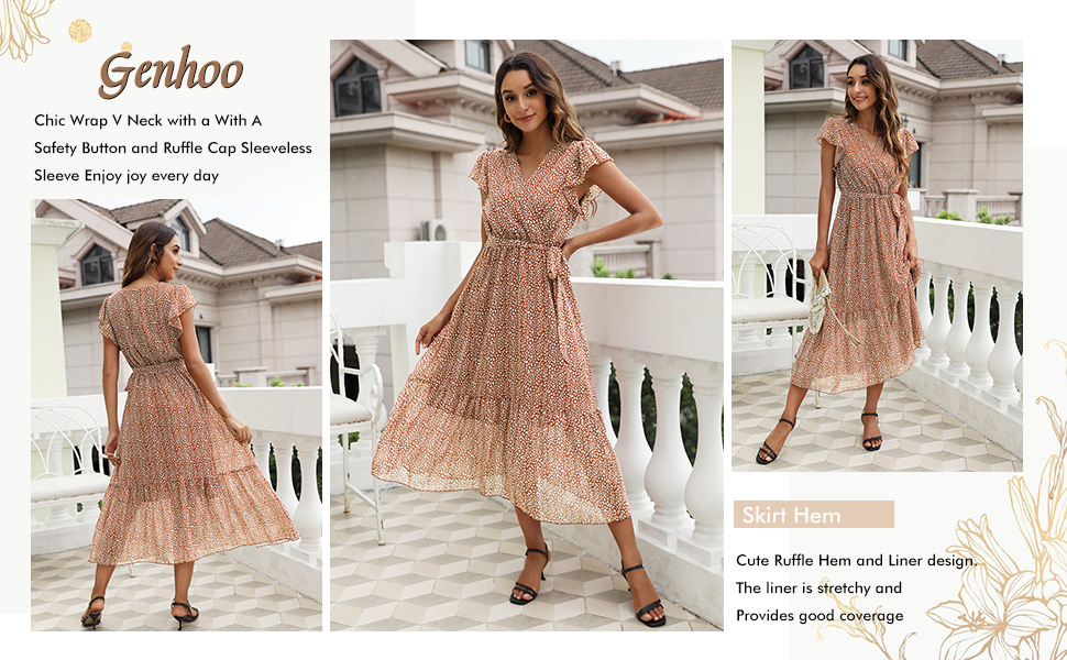 floral dresses for wedding guest women maxi dress women elegant for special occasions midi dress