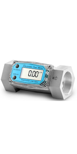 Turbine Flow Meter Electronic 1 inch 1.5 inch 3/4 Oil Flowmeter Kerosene Gas Methanol
