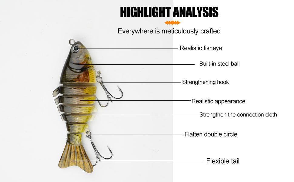 bionic swimming lure,bionic fishing lure,fishing lures for bass