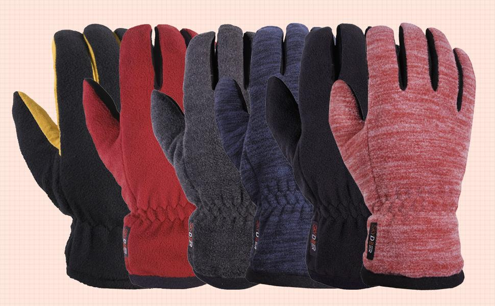 winter deerskin gloves