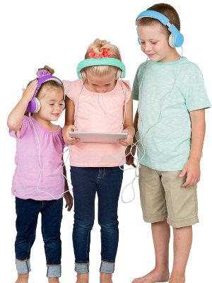kids wired headphones