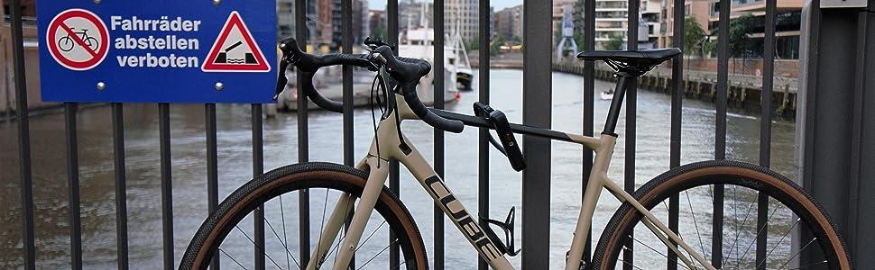 ProTag Apple Airtag fietshouder Bike Mount GPS lokalisatie diefstalbeveiliging