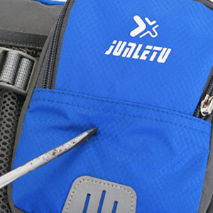 hiking waist pack abrasion proof material