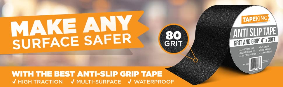 Tape Tapeking king anti-slip grip slip anti adhesive peel roll rolls aluminum oxide waterproof high