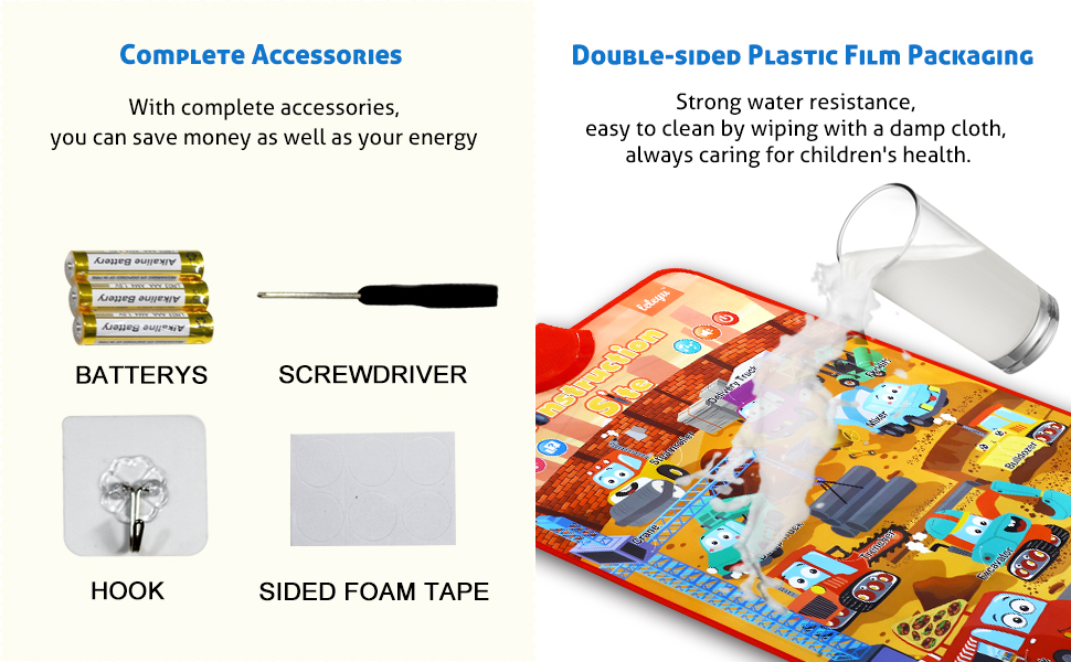 Complete Accessories and Water proof