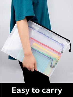 mesh zipper pouch
