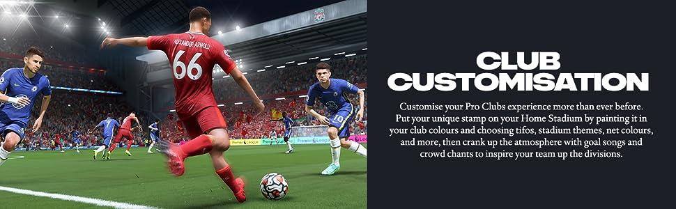 Club customisation