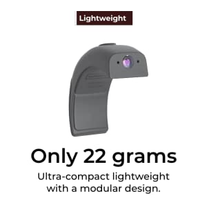 Lightweight - Only 22 grams