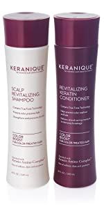 anti thinning hair growth shampoo and conditioner for color treated hair