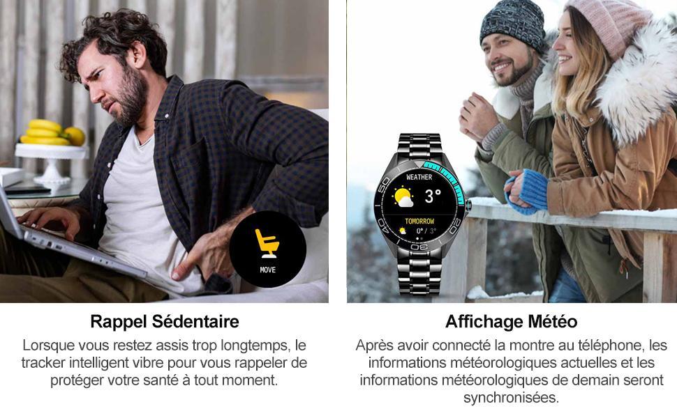 smartwatch homme