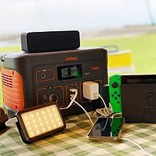多数の設備への充電