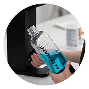 soda stream fill bottle soda carbonation machine carbonator ellemate drinkmate
